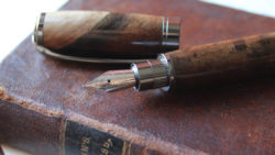 Turkish Walnut Custom Fountain Pen